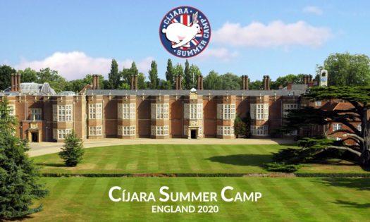 CÍJARA SUMMER CAMP ENGLAND